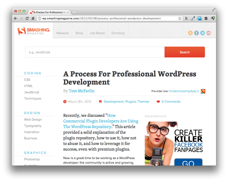 On Professional WordPress Development