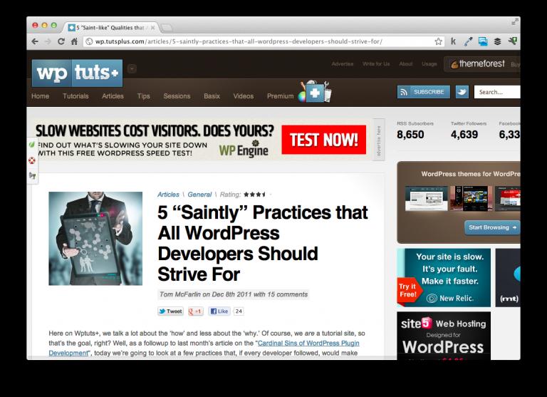 Best Practices For WordPress Development