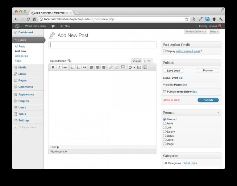 WordPress API Example