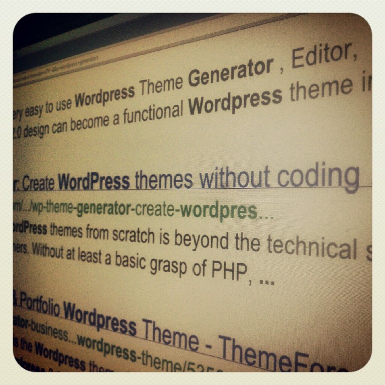 WordPress Generators