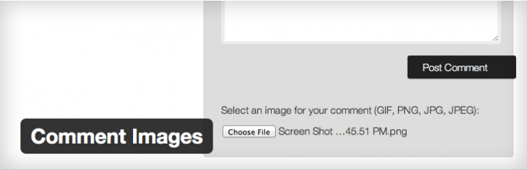 Comment Images For WordPress 1.4