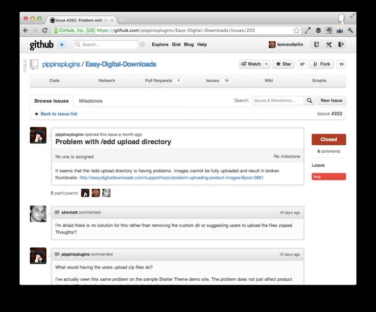 Easy Digital Downloads on GitHub
