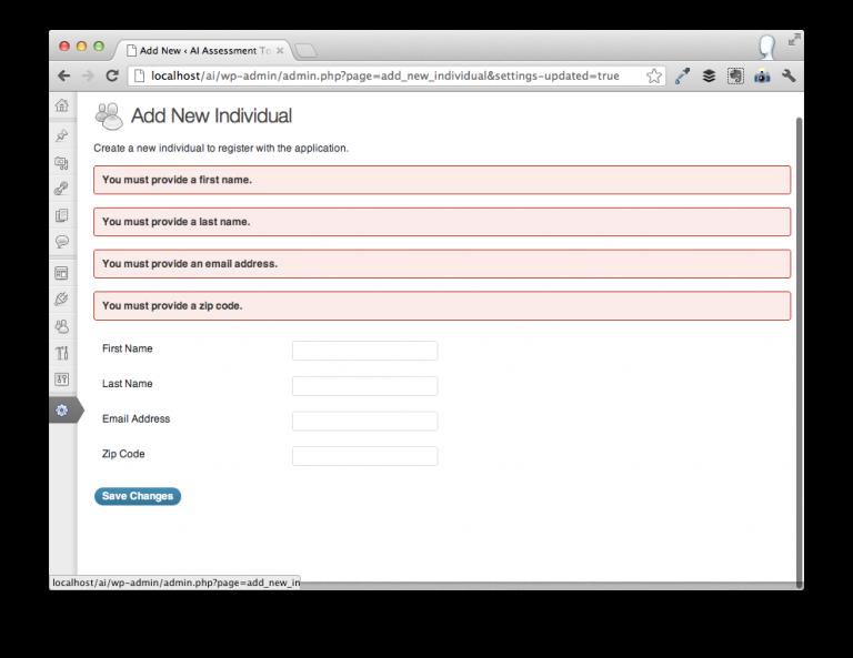 Unit Test WordPress Settings API Validators