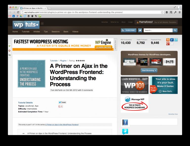 Ajax in WordPress