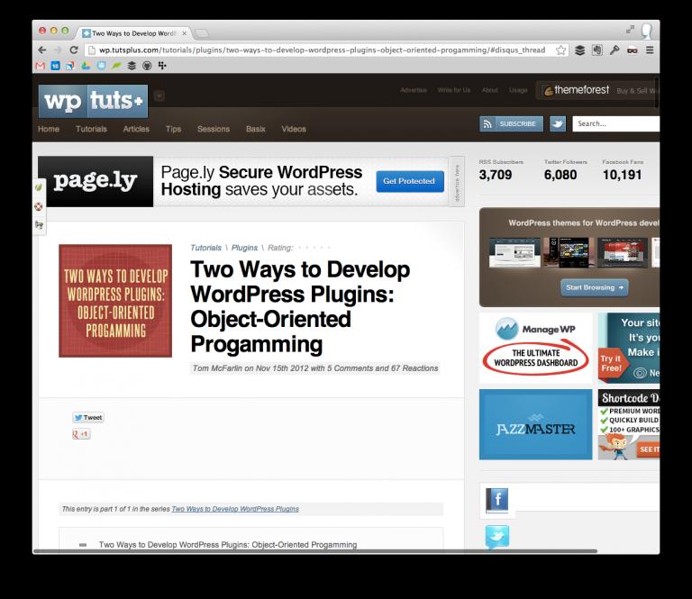 WordPress Plugin Programming