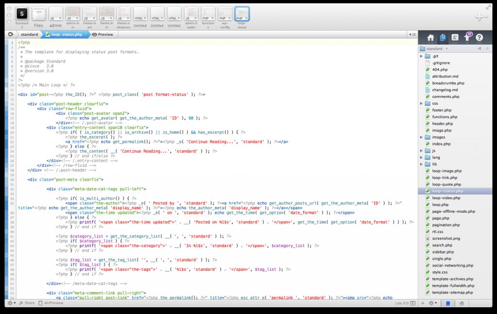 HTML Code Styles