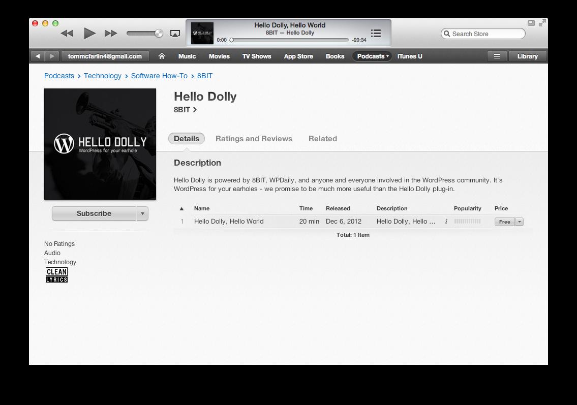 Hello Dolly Podcast