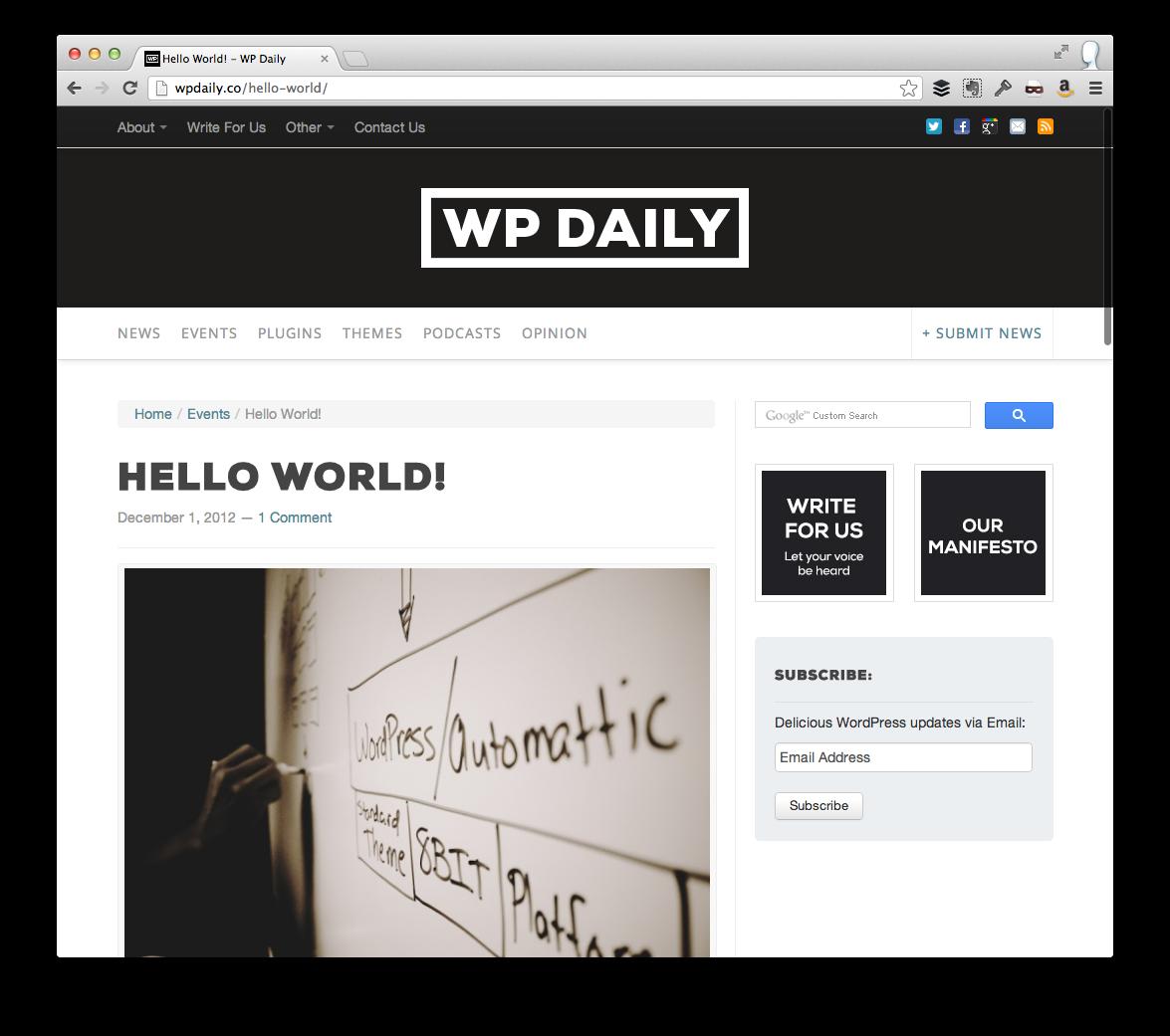 WP Daily