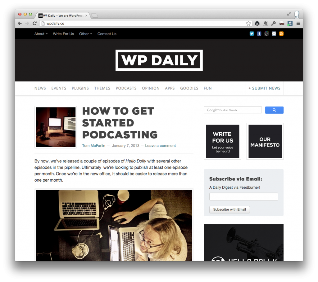 Get Started Podcasting