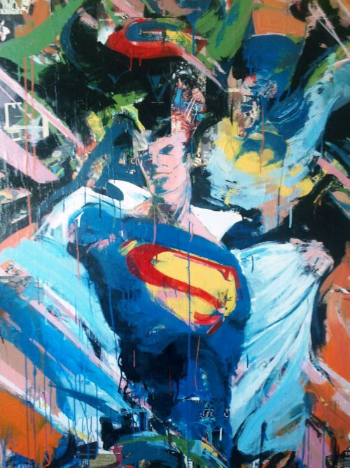 An Abstract Superman