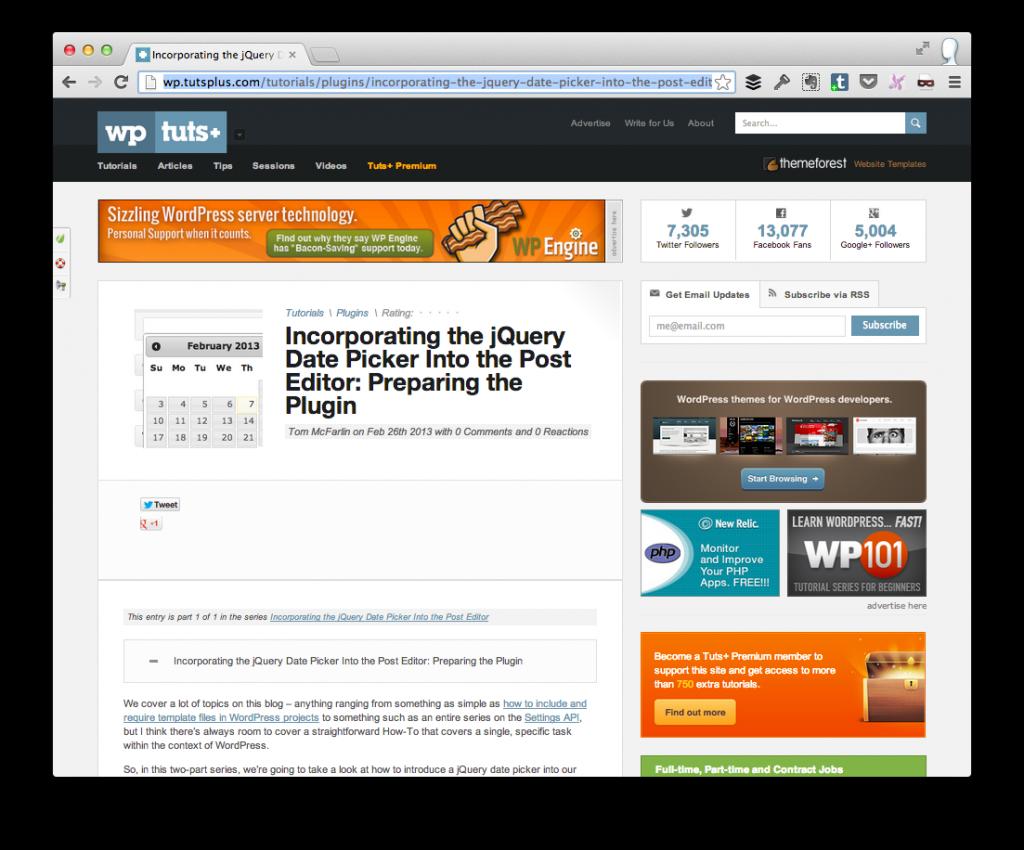 jQuer Datepicker in WordPress