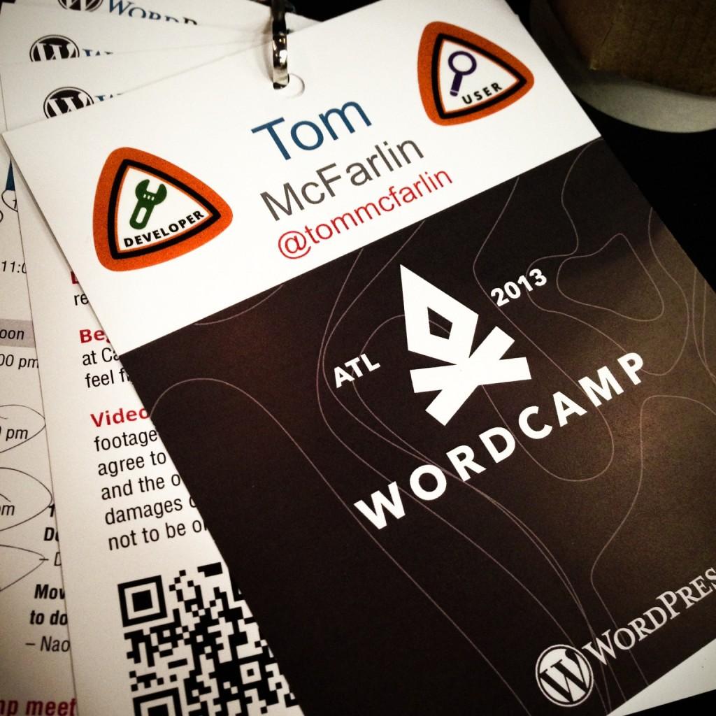 WordCamp Atlanta 2013