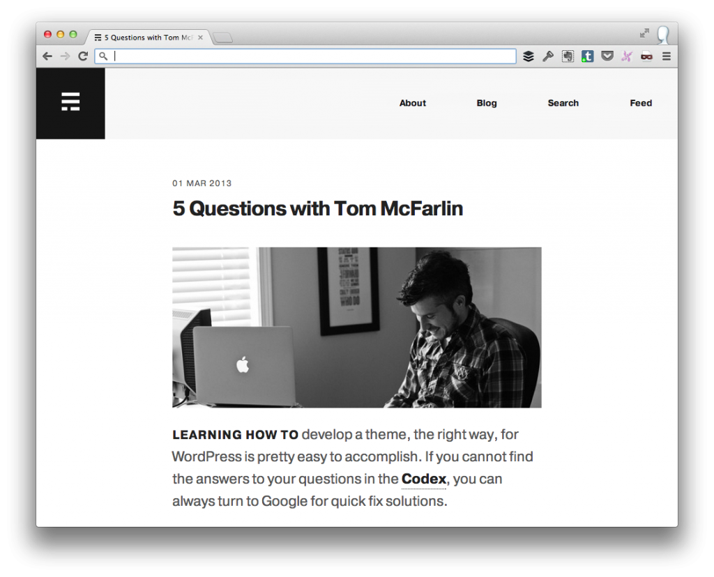 Interviewed By Erik Ford