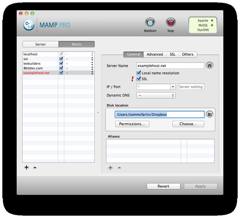 MAMP Directory