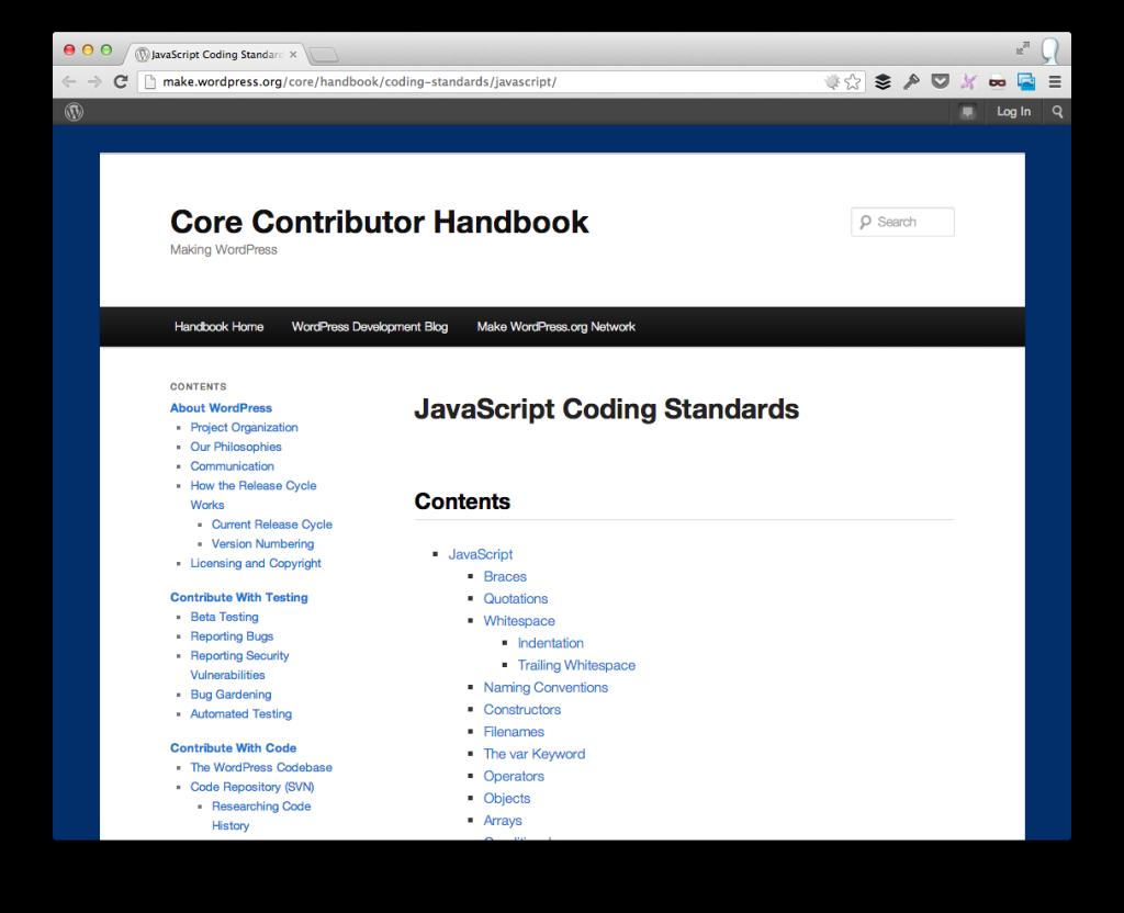 Core Contributor Handbook