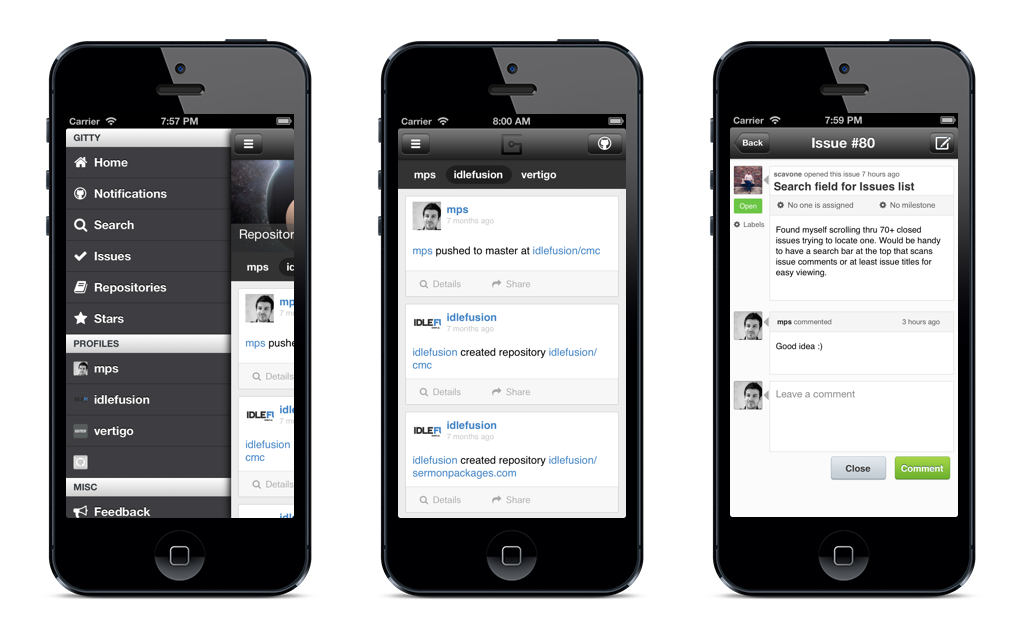 GitHub For iPhone