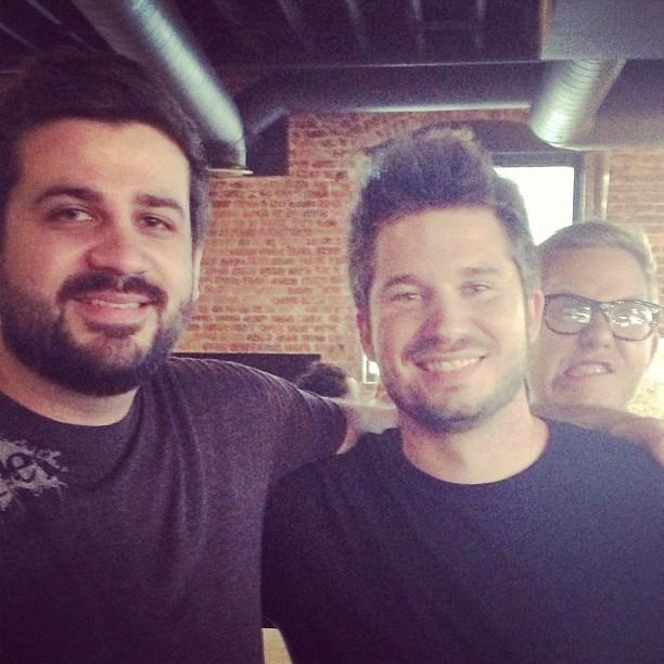 Matthew, Jared, and Myself at a recent meetup.