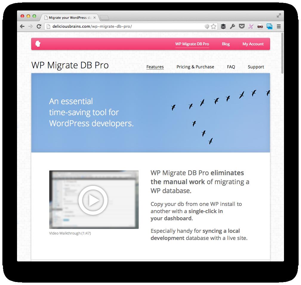 WP DB Migrate Pro