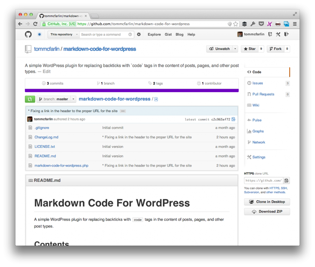 Markdown Code For Comments
