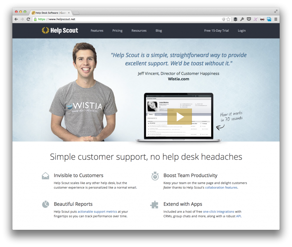 Help Scout For WordPress Support