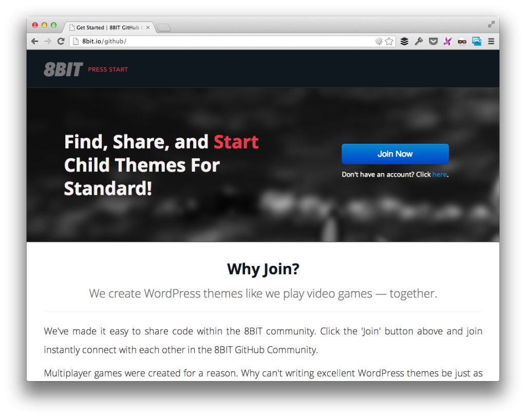 8BIT GitHub Community