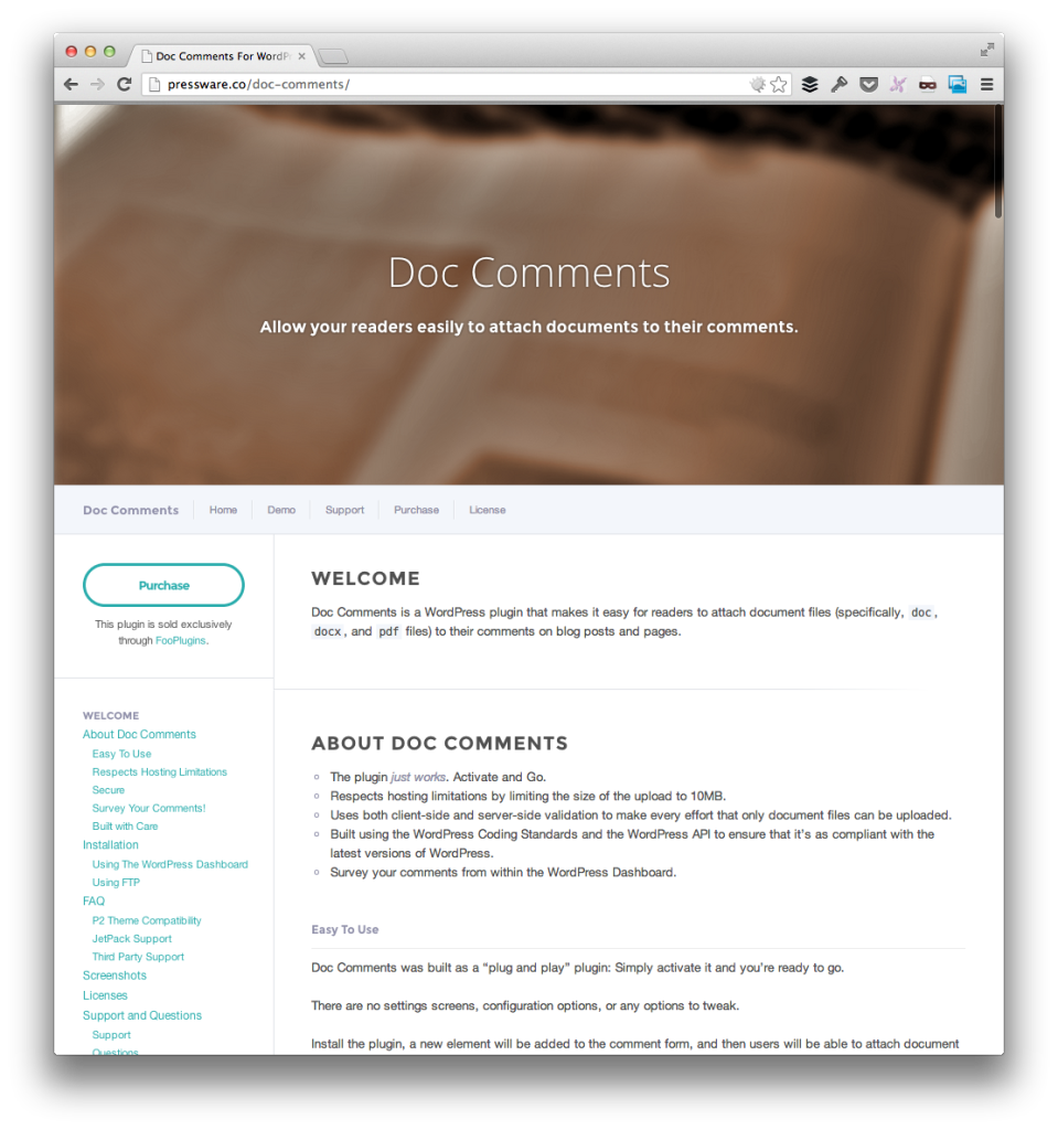 Attach Documents To WordPress Comments