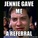 I Ask For Referrals