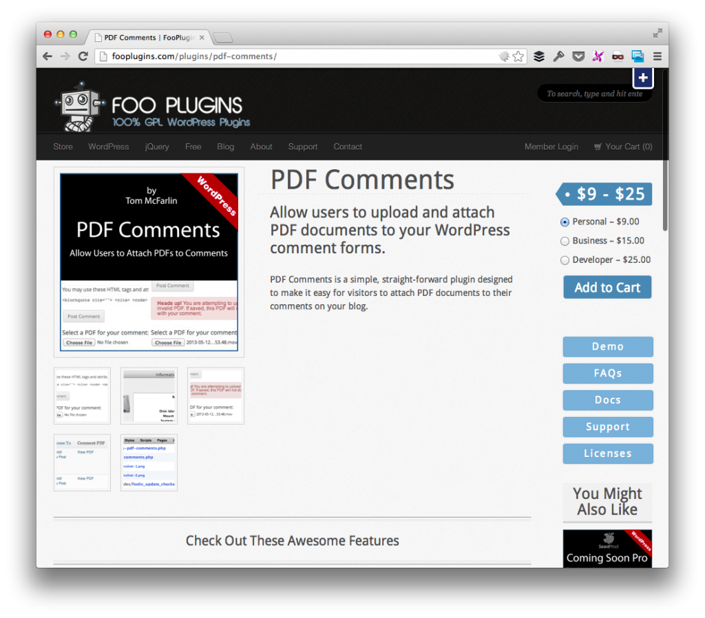 Purchase PDF Comments