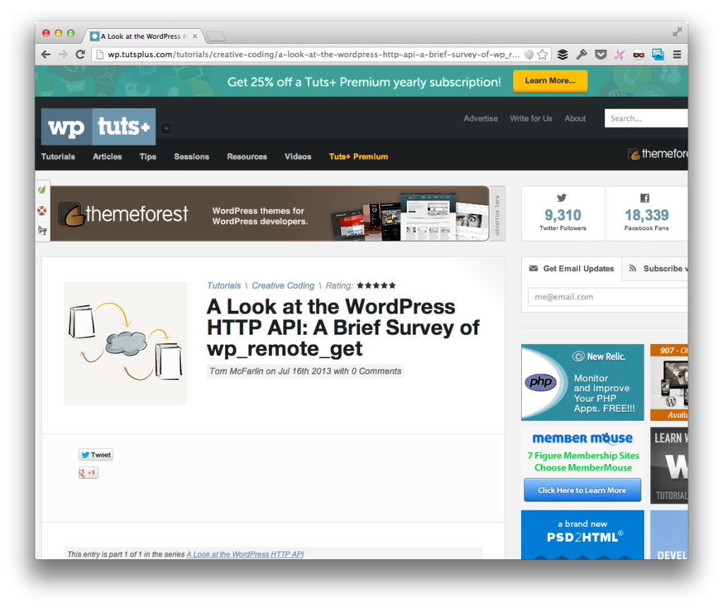 The WordPress HTTP API