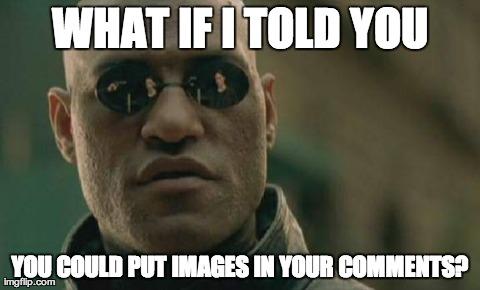 Morpheus Comment Images