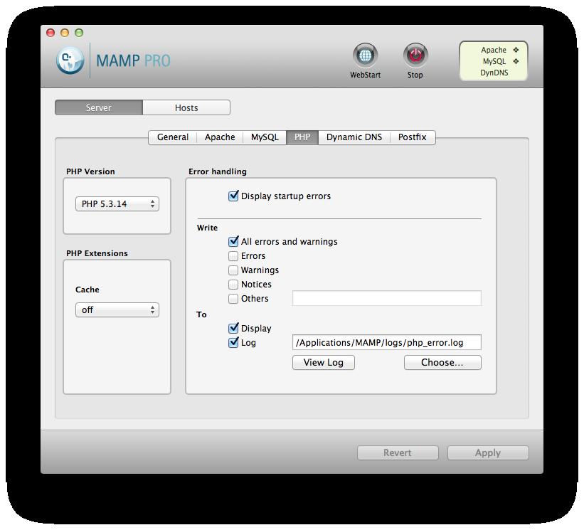 I'm running PHP 5.3.14