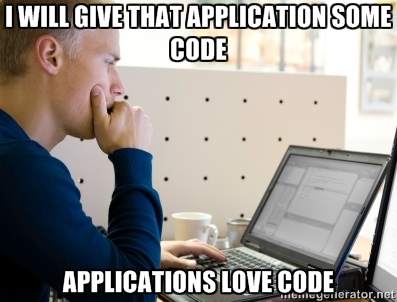 Applications Love Code