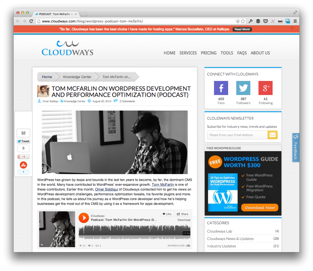The Cloudways Podcast