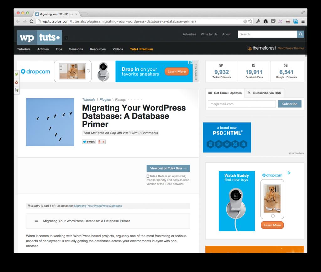 Move Your WordPress Database