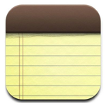 Apple Notes Icon