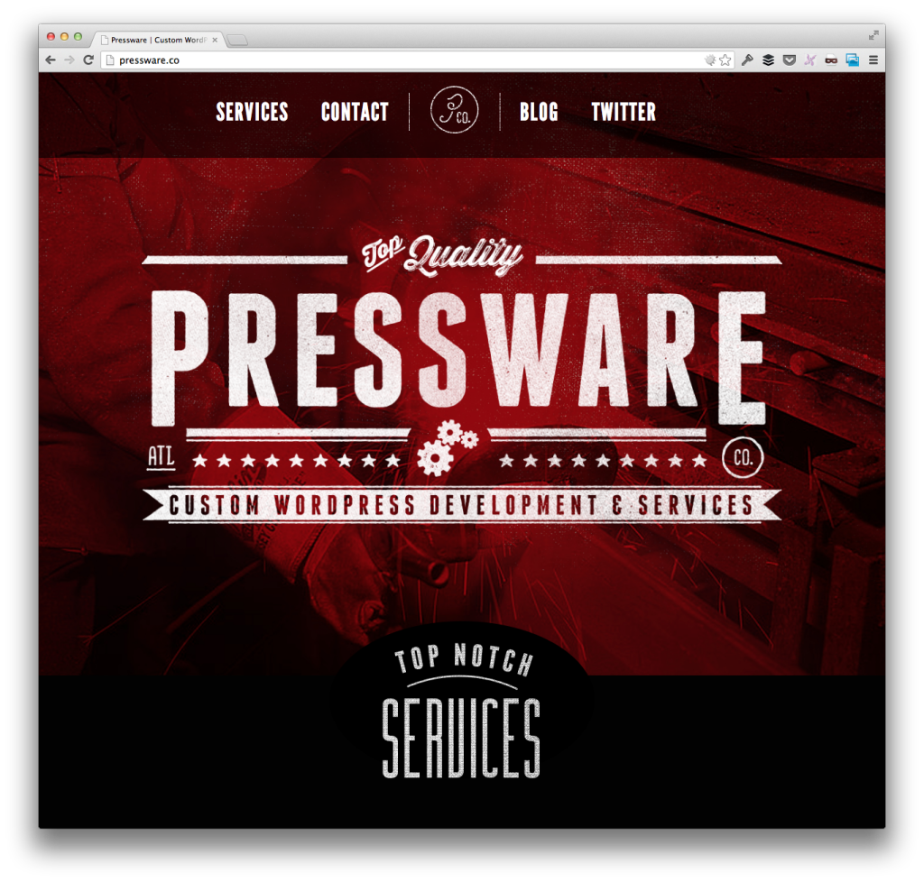 The Pressware Homepage