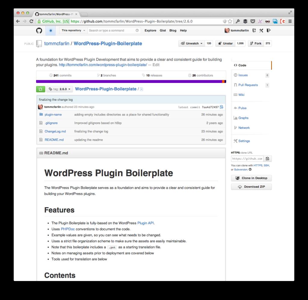 The WordPress Plugin Boilerplate