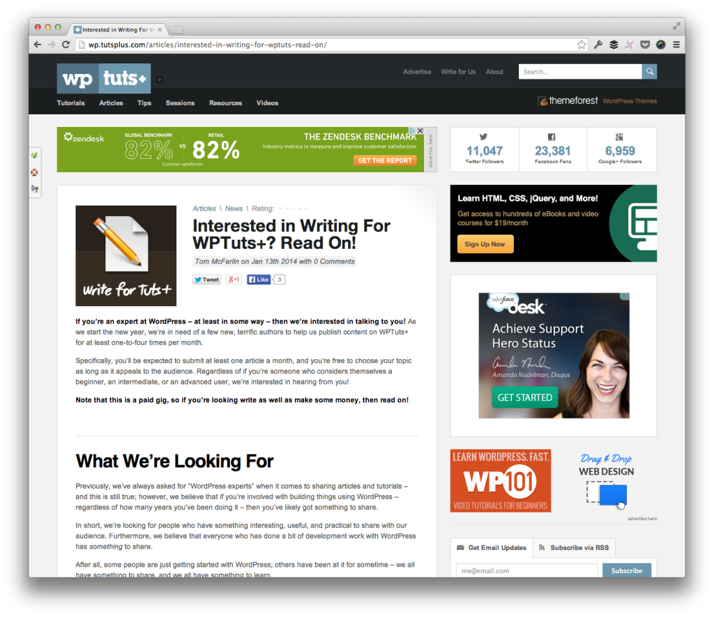Officially Partnering with Envato and WordPress | Tom McFarlin