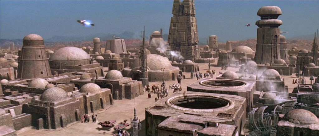 """You'll never find a more wretched hive of scum and villainy."""