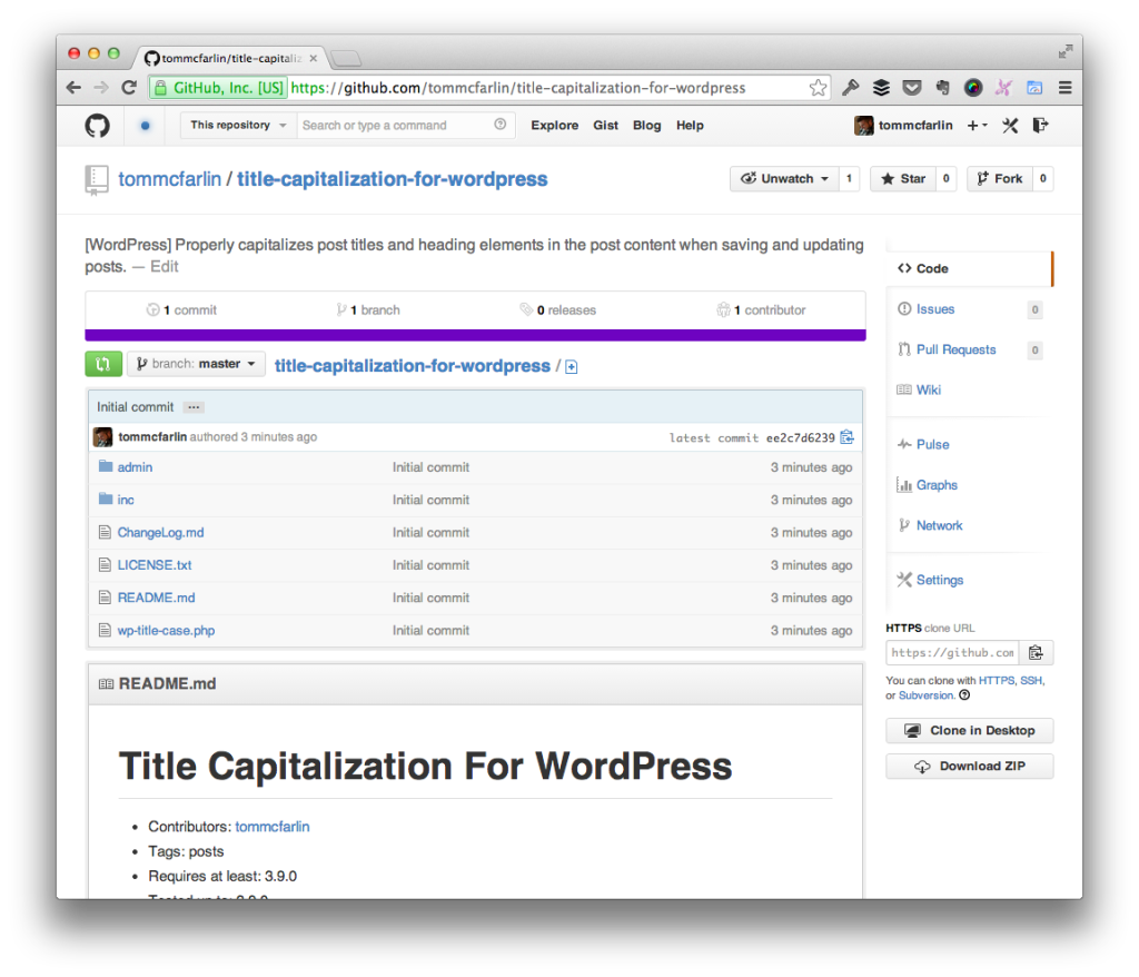 Title Capitalization for WordPress