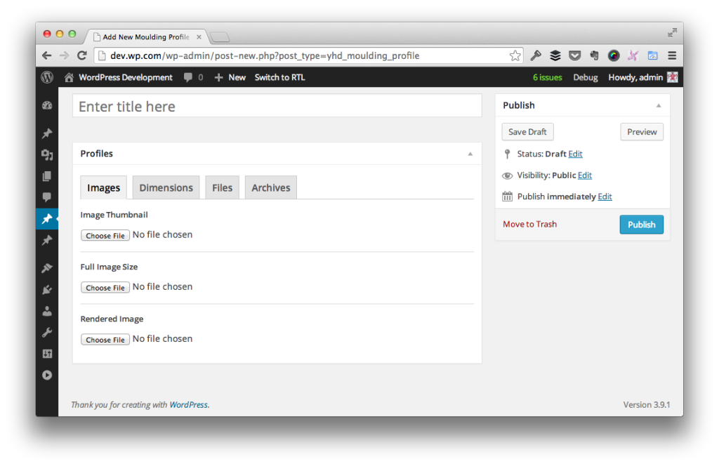 Tabbed WordPress Meta Boxes