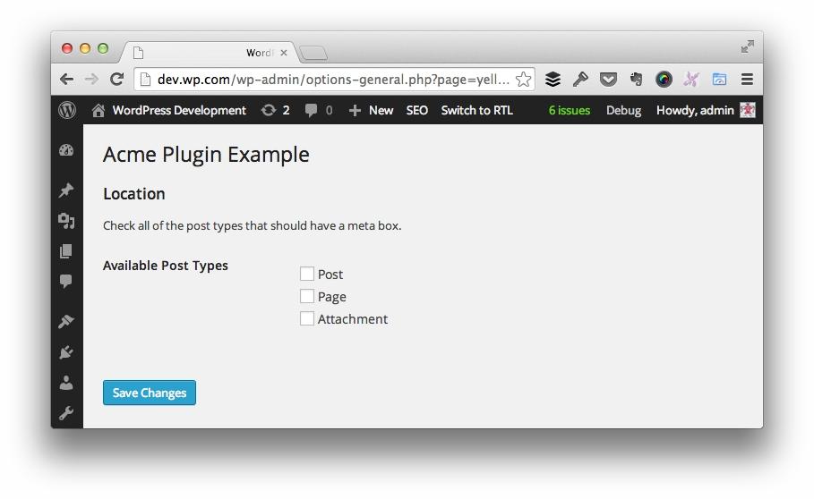 Simplifying Code: Options Arrays