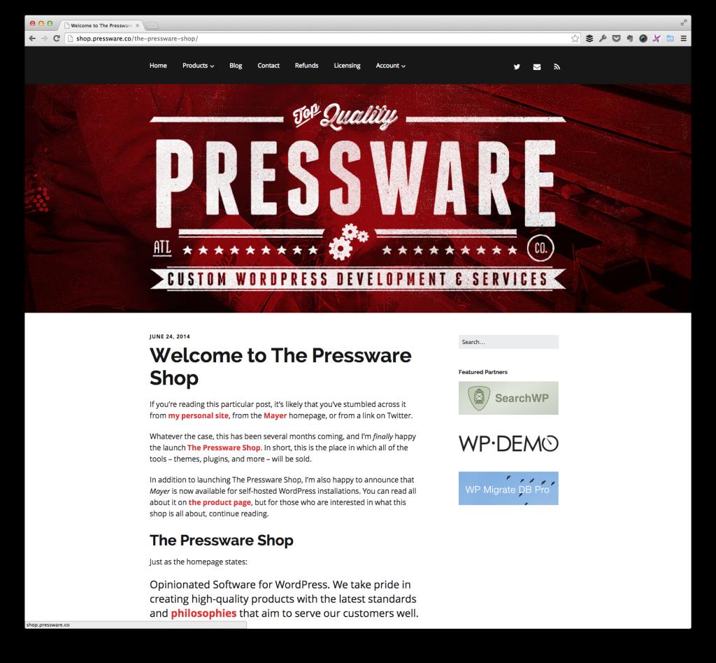 The Pressware Shop