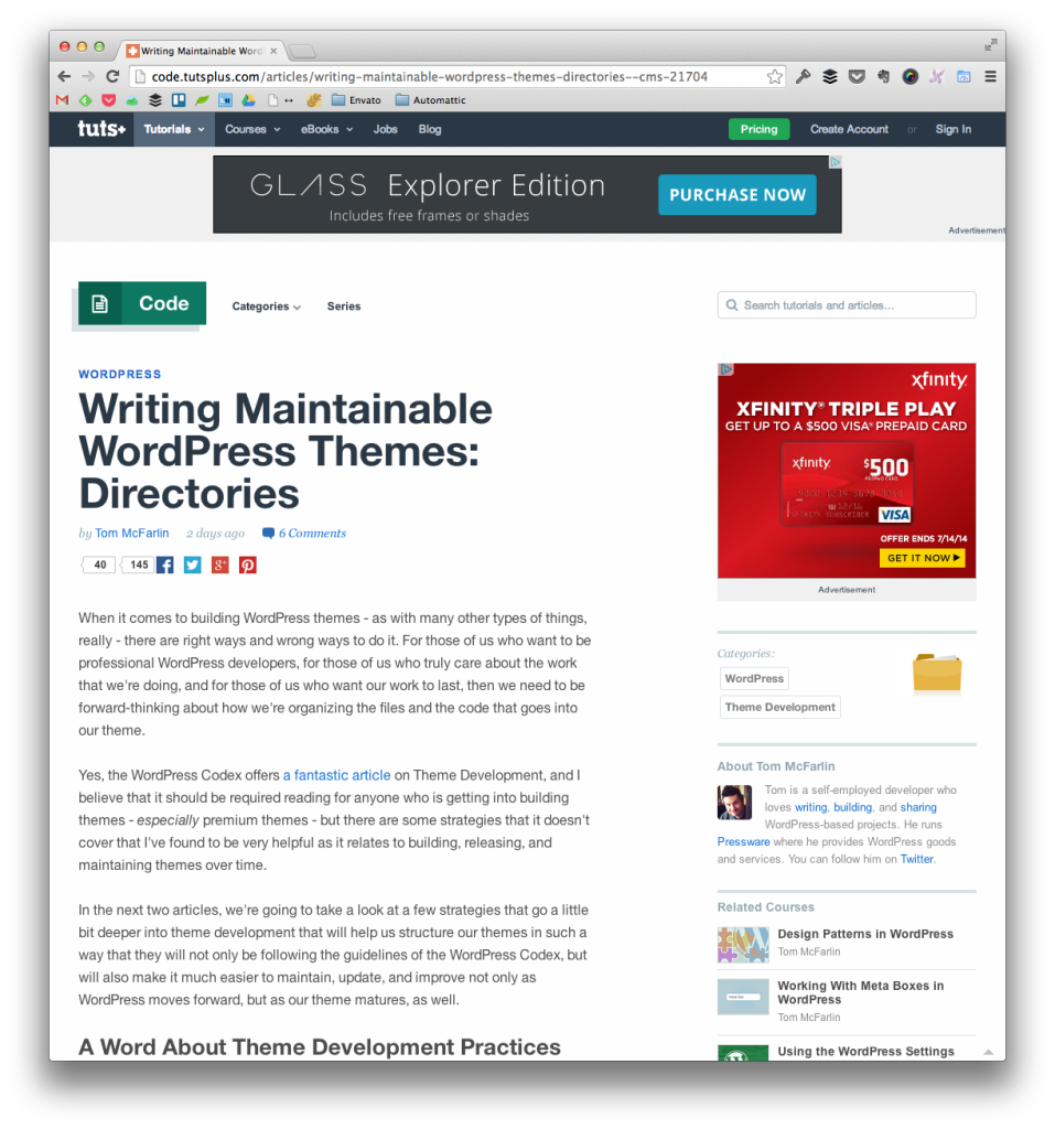 Maintainable WordPress Themes