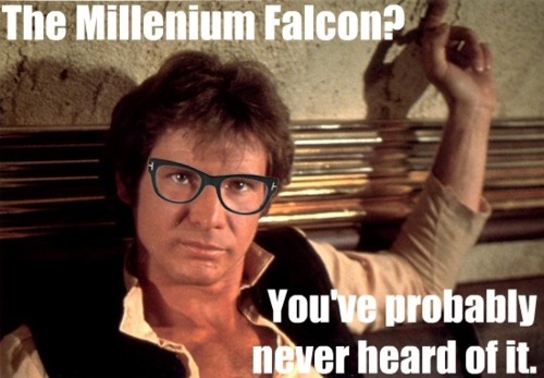 Hipster Han Solo