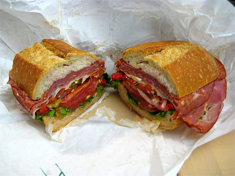 It's not a sub sandwich, either.