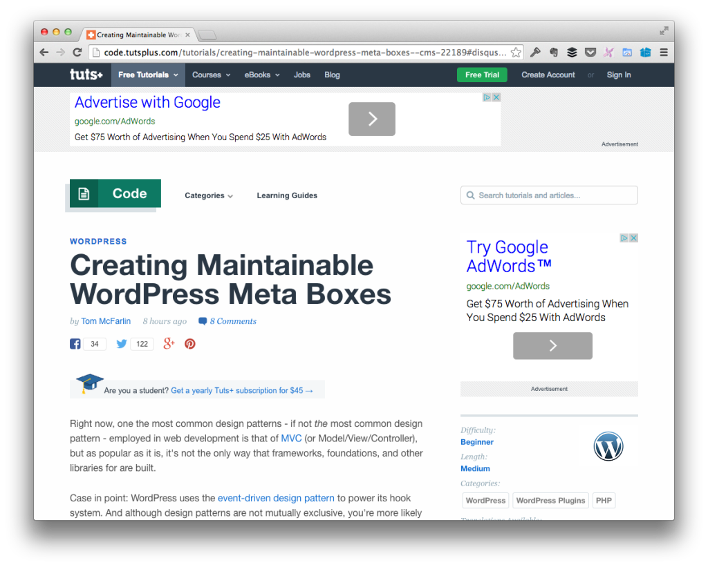 Writing Maintainable WordPress Code: Author's Commentary