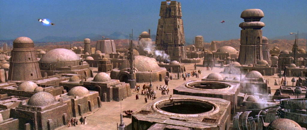 It's not a wretched hive of scum an villainy. Not completely.