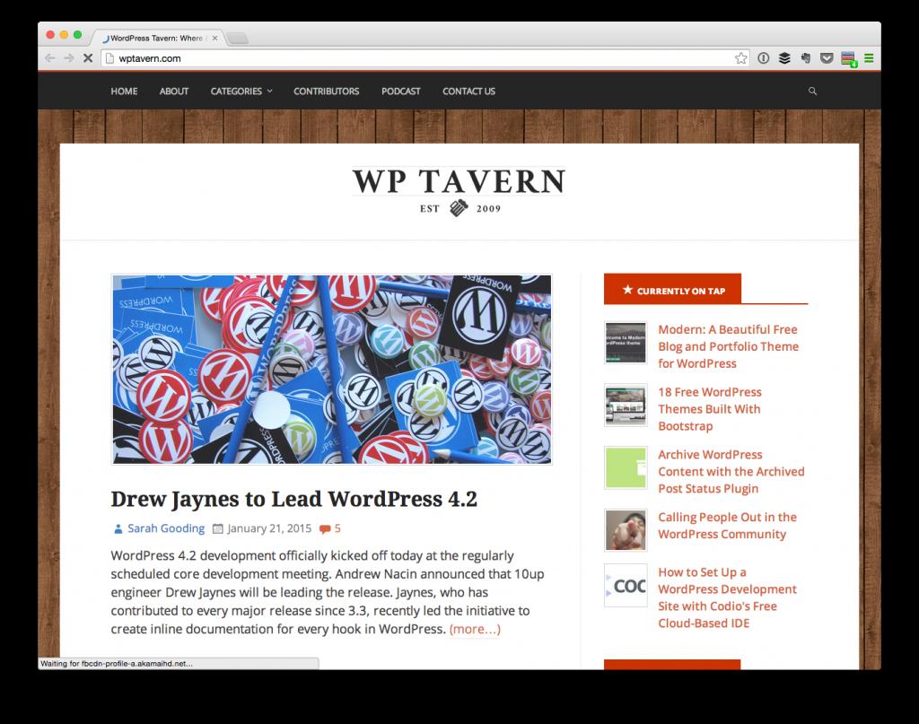 The WordPress Tavern