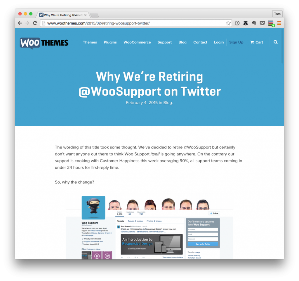 WooThemes Support